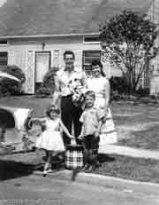 Family picture circa 1950's; Size=180 pixels wide